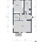 Квартира в Швеции, 49 кв.м.