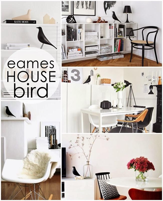 Eames House Bird в интерьере