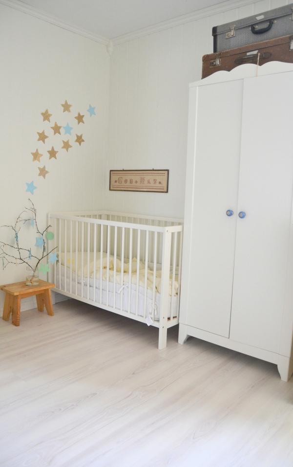 Дом в Норвегии. Детская комната