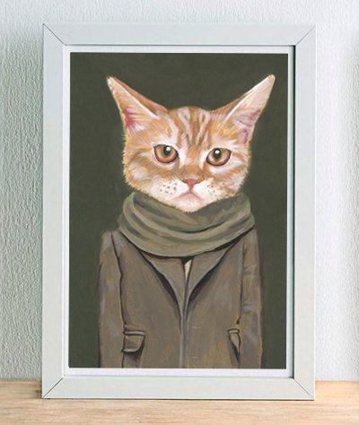 """""""Одетые коты"""" от Хизер Метун"""