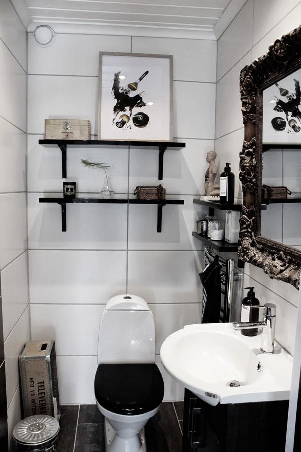 Дом в Швеции. Ванная