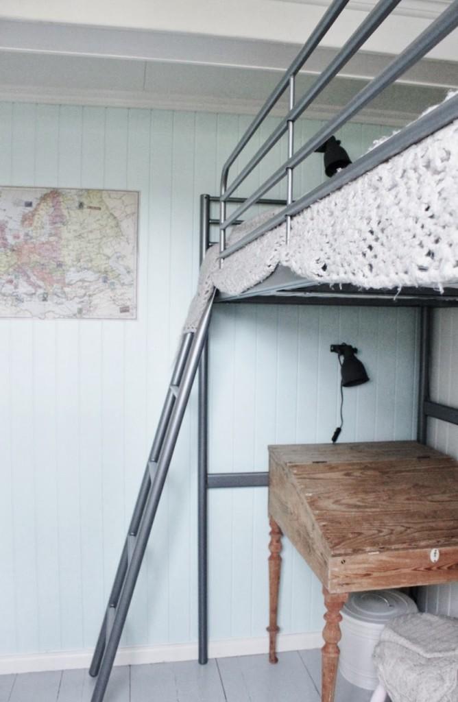 Дом Мии из Норвегии. Комната старшей дочери Мадель