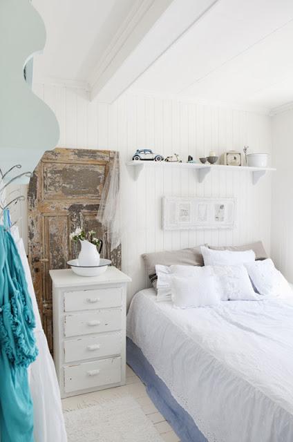 Дом Мии из Норвегии.   Спальня