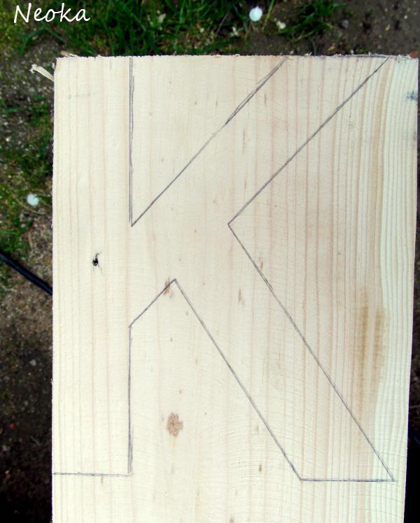 деревянная буква своими руками