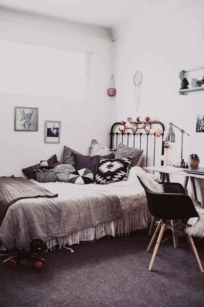 Квартира в Париже. Скандинавский бохо стиль