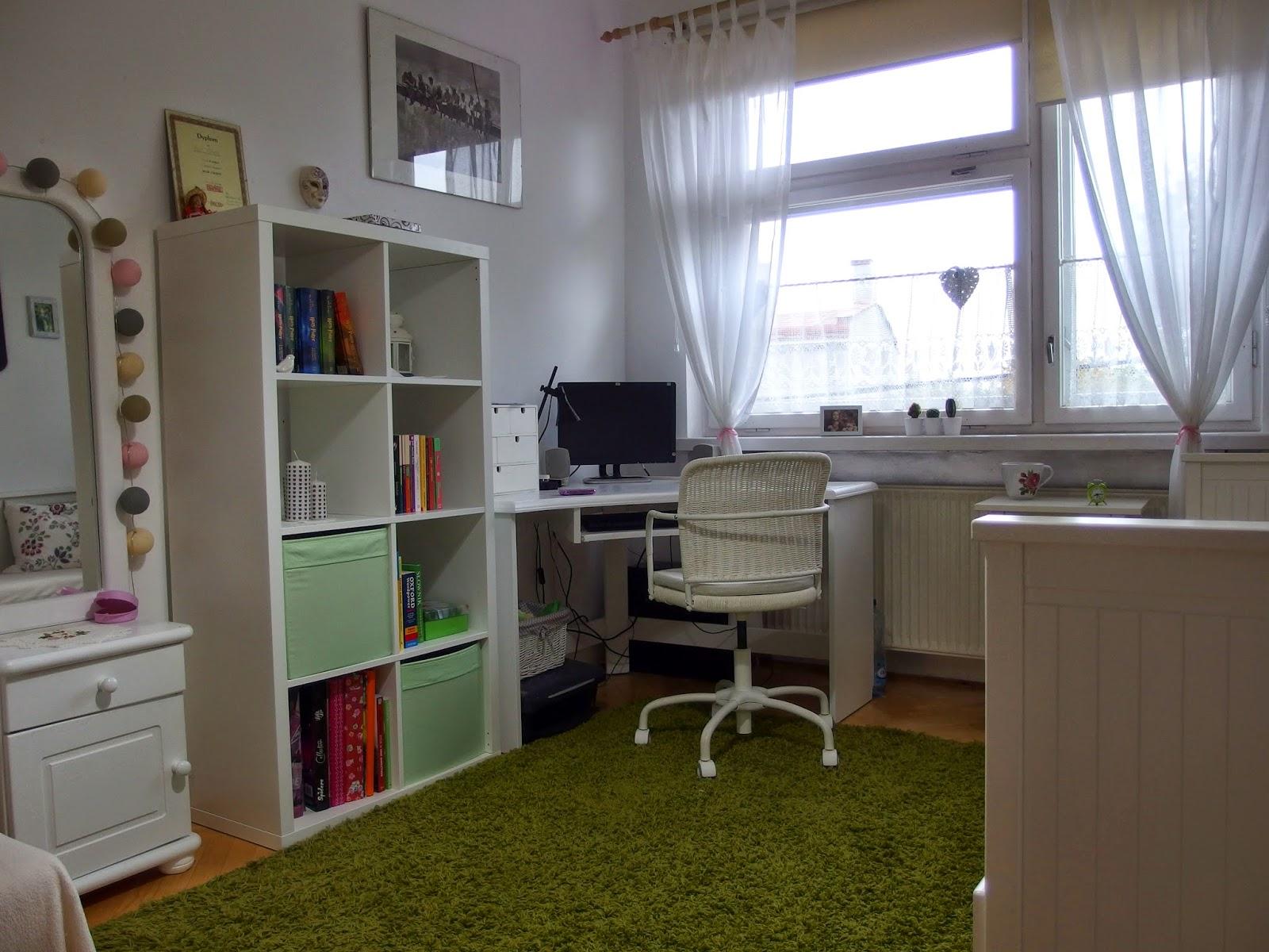 До и после детская комната скандинавский стиль белый цвет