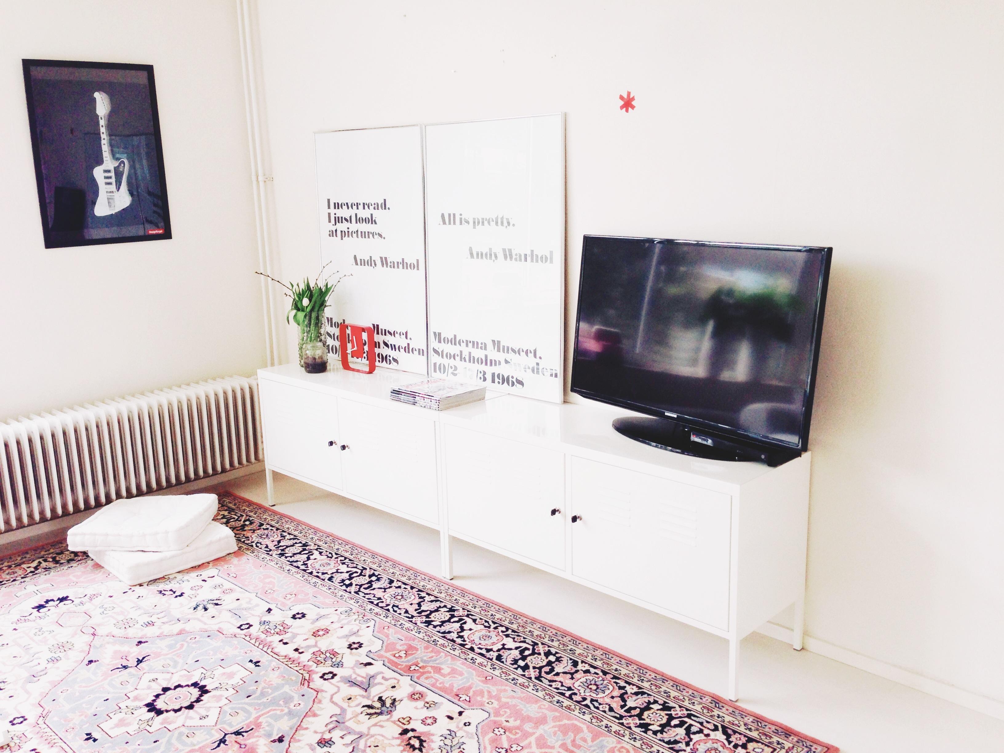 Ковер в гостиной скандинавский стиль современный интерьер