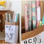 DIY. Бумажный мешок